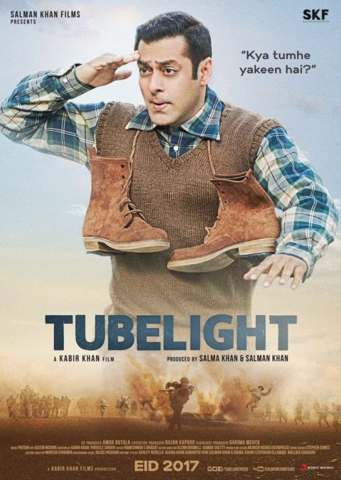 First Look Poster of Tubelight starring Salman Khan