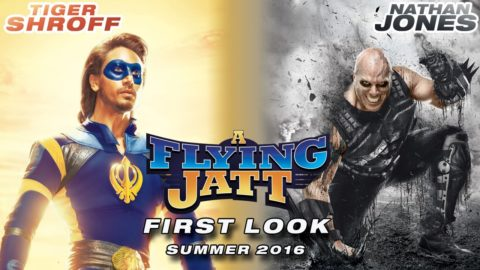 A Flying Jatt Motion Poster starring Tiger Shroff