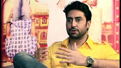 Abhishek Bachchan Interview on Bol Bachchan