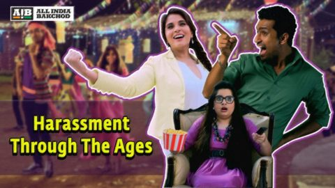 AIB : Harassment Through The Ages ft Richa Chadha, Vicky Kaushal