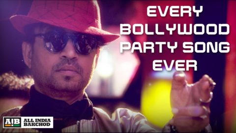 AIB's Every Bollywood Party Song feat Irfan Khan