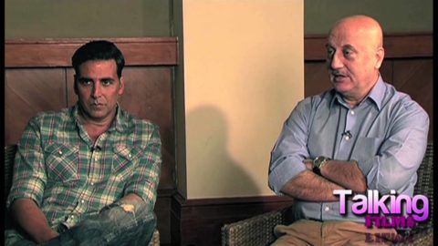 Akshay Kumar and Anupam Kher Interview on Special 26