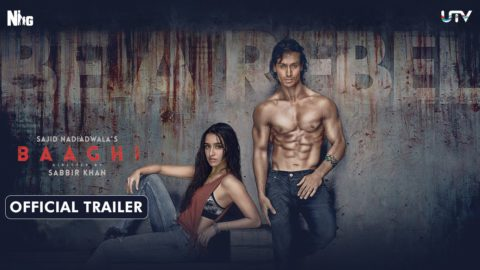 Baaghi Official Trailer starring Tiger Shroff, Shraddha Kapoor