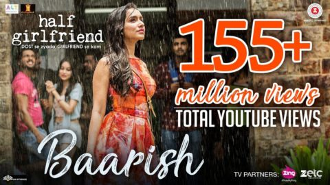 Baarish Song from Half Girlfriend ft Arjun Kapoor, Shraddha Kapoor