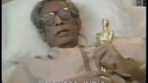 Blast from the Past: Satyajit Ray receiving his Honorary Oscar