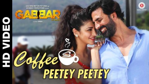 Coffee Peetey Peetey Song from Gabbar Is Back ft Akshay Kumar, Shruti Haasan