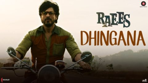Dhingana Song from Raees ft Shah Rukh Khan