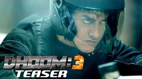 Dhoom 3 Official Teaser