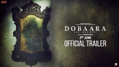 Dobaara – See Your Evil Official Trailer starring Huma Qureshi, Saqib Saleem