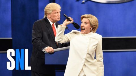 Donald Trump vs. Hillary Clinton Third Debate Cold Open – SNL
