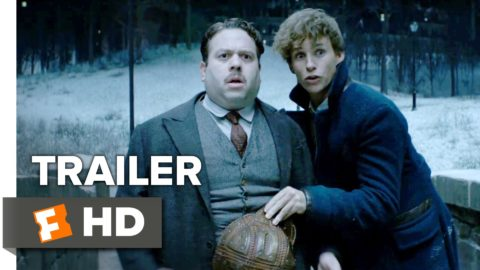 Fantastic Beasts and Where to Find Them Official Trailer starring Eddie Redmayne