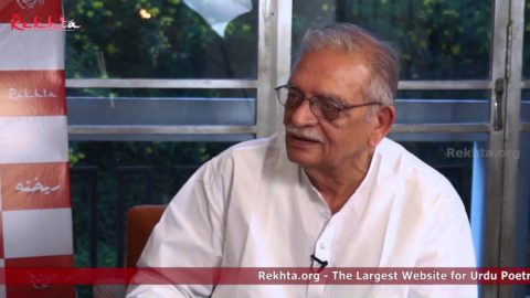 Gulzar's Interview on Urdu's evolution and its critics