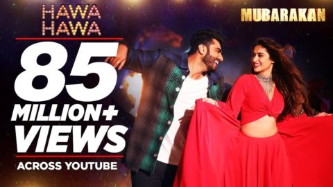 Hawa Hawa Song from Mubarakan ft Arjun Kapoor,  Ileana D'Cruz