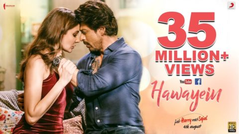 Hawayein Song from Jab Harry Met Sejal ft Shah Rukh Khan, Anushka Sharma