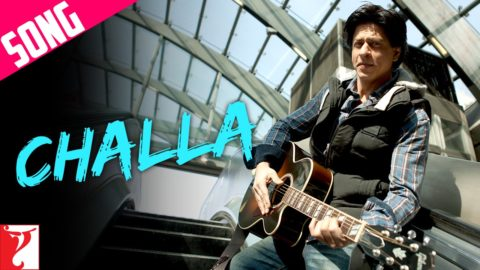 Initial tune of Challa from Jab Tak Hai Haan Copied