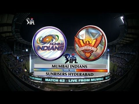 IPL: Mumbai Indians v Sunrisers Hyderabad Full Match Highlights