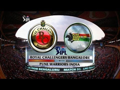 IPL: Royal Challengers Bangalore vs Pune Warriors Full Match Highlights
