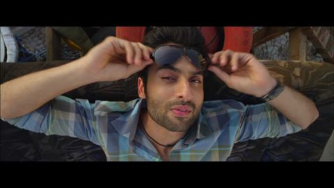 Jackky Bhagnani dancing to Gangnam Style from Rangrezz