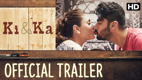 Ki & Ka Official Trailer starring Arjun Kapoor, Kareena Kapoor
