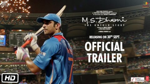 M.S.Dhoni – The Untold Story Official Trailer starring Sushant Singh Rajput