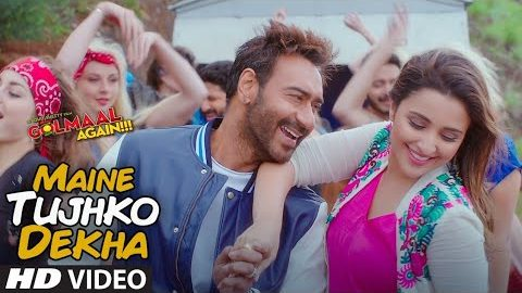 Maine Tujho Dekha Song from Golmaal Again ft Ajay Devgn, Parineeti Chopra, Arshad Warsi, Tusshar Kapoor, Shreyas Kalpade