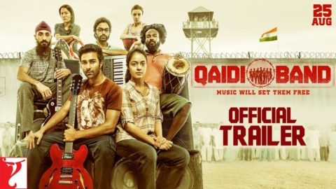 Qaidi Band Official Trailer starring Aadar Jain, Anya Singh