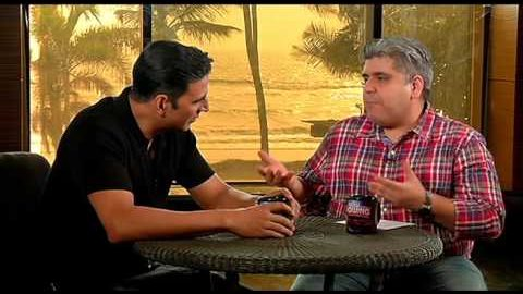 Rajeev Masand interview with Akshay Kumar