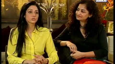 Rajeev Masand Interview with Sridevi and English Vinglish director Gauri Shinde