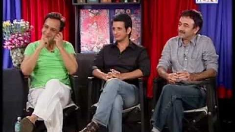 Rajeev Masand interview with the team of Ferrari Ki Sawaari