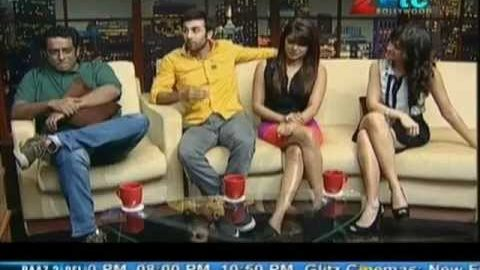 Ranbir, Priyanka, Ileana and Anurag Basu Interview with Komal Nahta