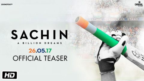Sachin A Billion Dreams Official Teaser starring Sachin Tendulkar