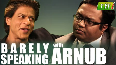 Shah Rukh Khan Interview on TVF Talk Show Barely Speaking with Arnub