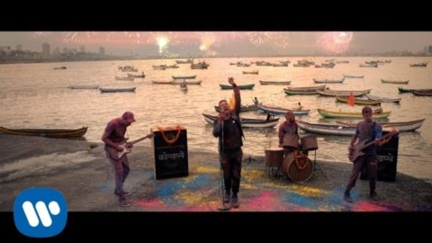 Sonam Kapoor in a blink and miss scene in Hymn For The Weekend video by Coldplay