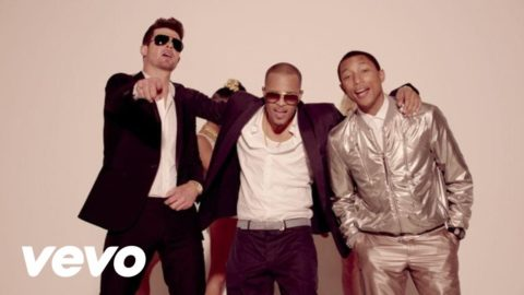 SOTD: Blurred Lines by Robin Thicke ft. T.I. and Pharrell