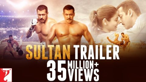 Sultan Official Trailer starring Salman Khan, Anushka Sharma