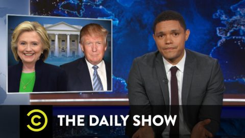 The Daily Show with Trevor Noah – Hillary Clinton or Donald Trump: Two Very Lucky Nominees