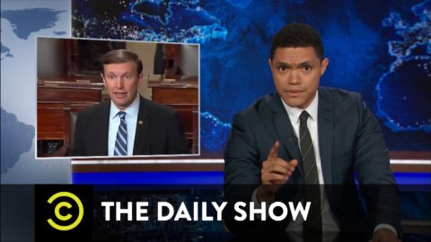 The Daily Show with Trevor Noah – Senate Democrats Filibuster for Gun Control