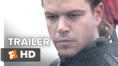 The Great Wall Official Trailer starring Matt Damon