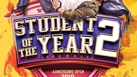 Student of the Year 2 Poster starring Tiger Shroff
