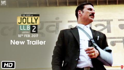 Jolly LL.B 2 Official Trailer starring Akshay Kumar, Huma Qureshi
