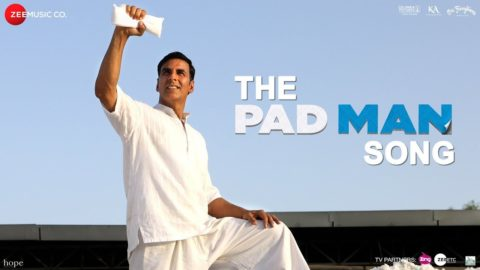 Title Song from Padman ft Akshay Kumar, Sonam Kapoor