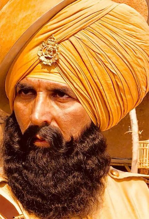 Kesari First Look starring Akshay Kumar