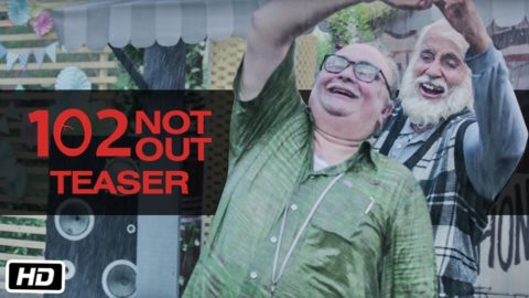 102 Not Out Official Teaser starring Amitabh Bachchan, Rishi Kapoor