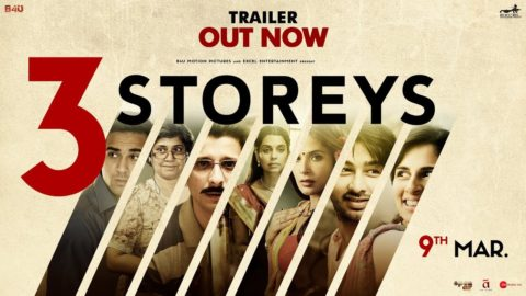3 Storeys Official Trailer starring Richa Chadha, Renuka Shahane, Pulkit Samrat, Sharman Joshi, Masumeh