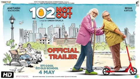 102 Not Out official Trailer starring Amitabh Bachchan, Rishi Kapoor