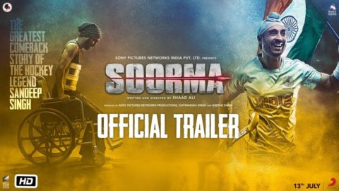 Soorma Official Trailer starring Diljit Dosanjh, Taapsee Pannu