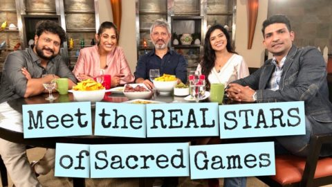 Rajeev Masand Interviews Sacred Games Cast