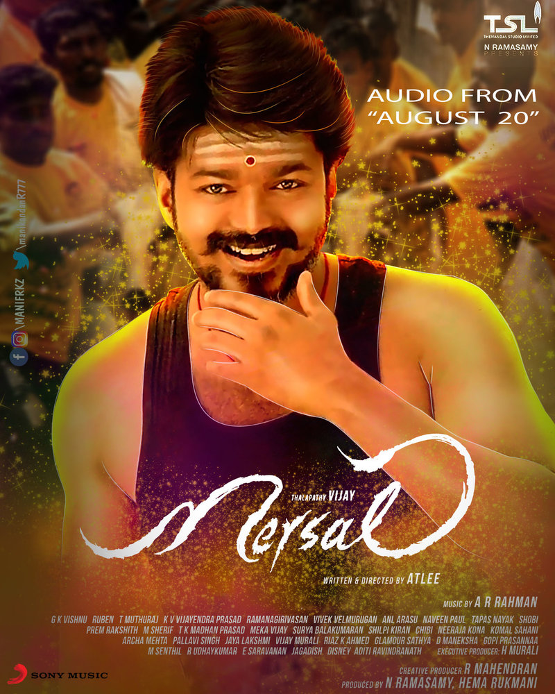Mersal Movie Review - FS