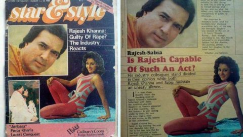 Blast from the Past: When Rajesh Khanna was accused by Sabia of Rape