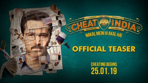 Cheat India Official Teaser starring Emraan Hashmi, Shreya Dhanwanthary